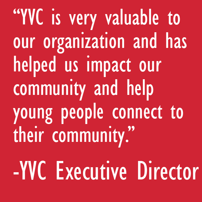 Youth Volunteer Corps Ed Quote Youth Volunteer Corps