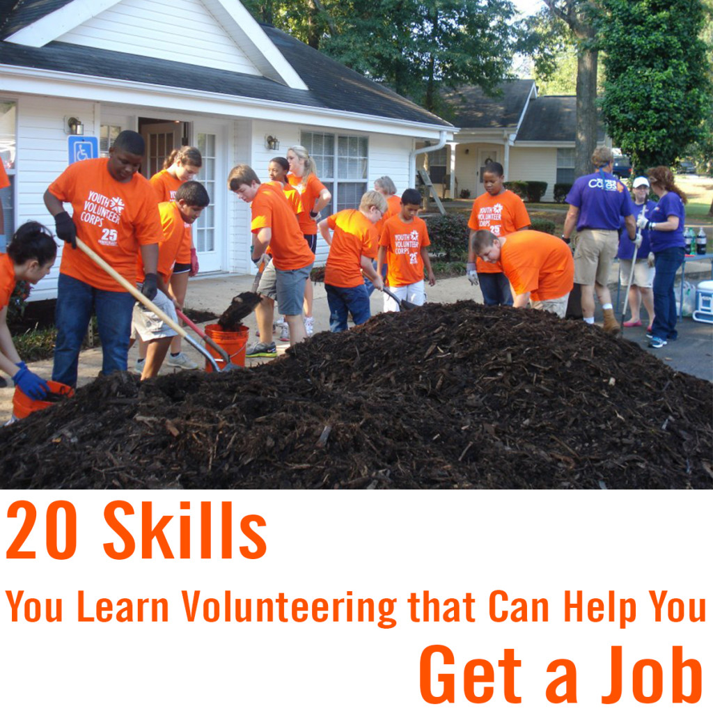 Skills You Learn Volunteering that Can Help You Get a Job