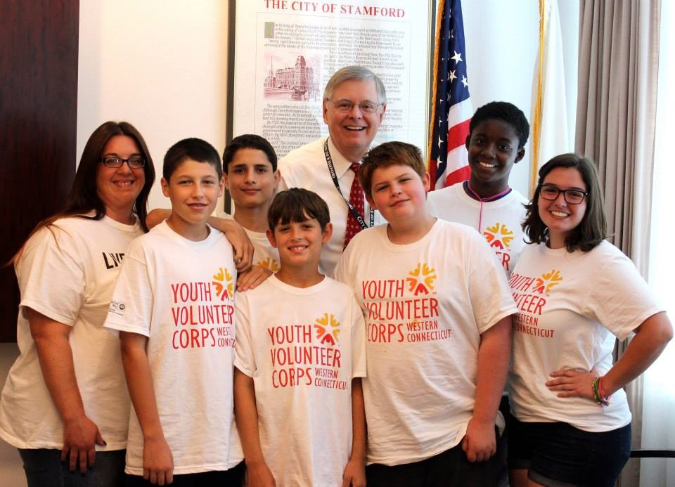 Stamford Summer of Service_Mayor Martin