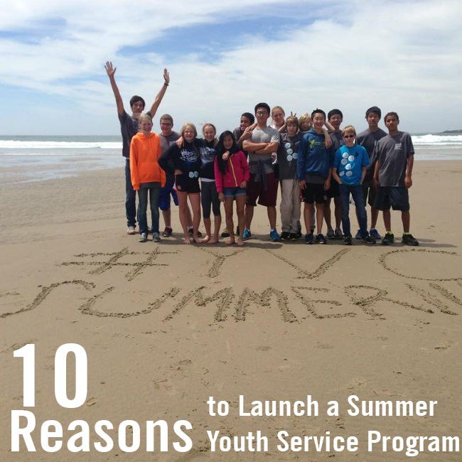 How to start a summer teen service program