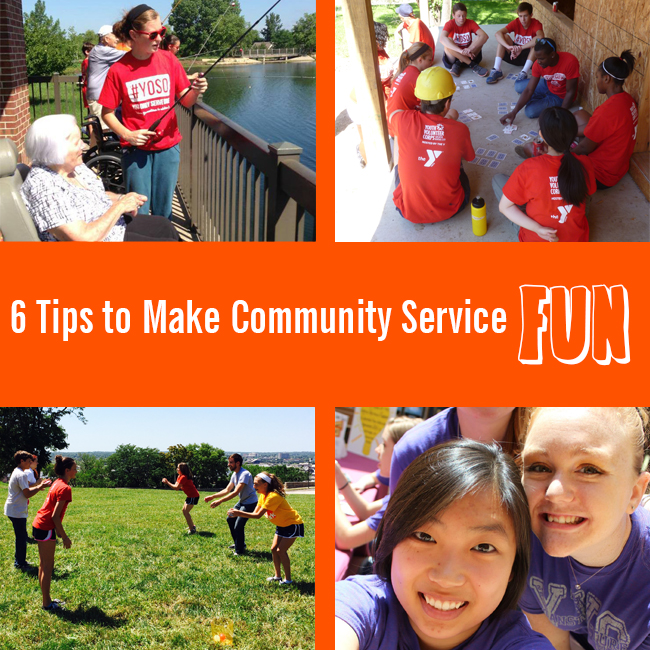 3.26.15 Six Tips to Make Community Service Fun