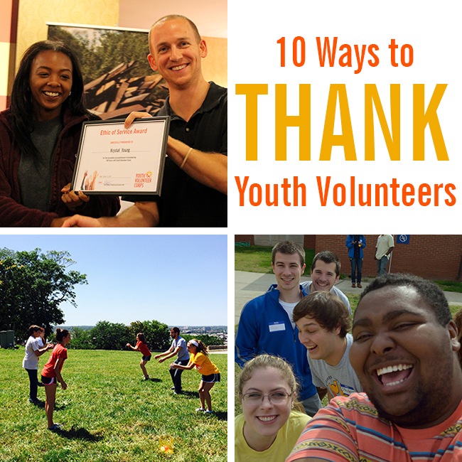 How to Thank Youth Volunteers