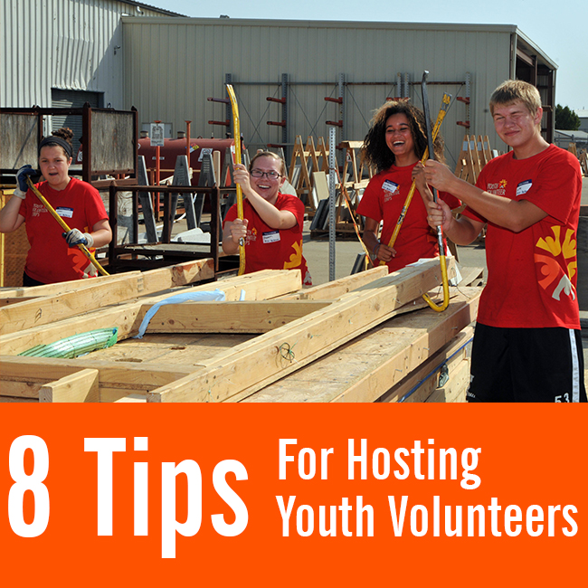 Tips for Working with Youth Volunteers