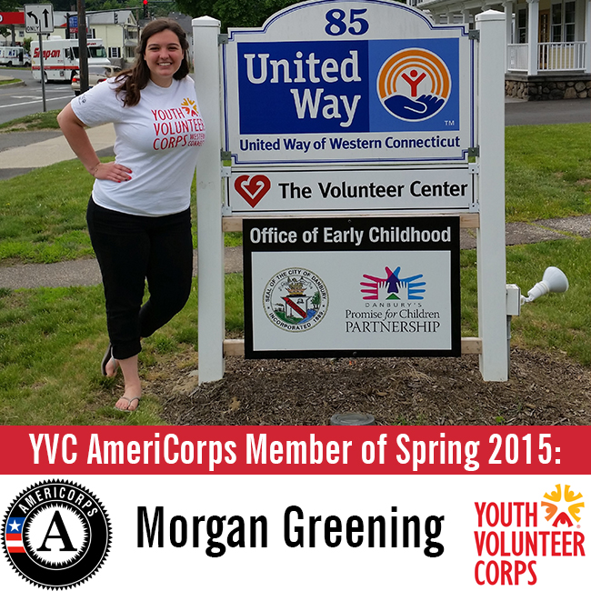 5.28.15 YVC AmeriCorps Member of Spring 2015 - Morgan Greening