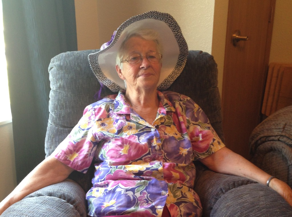 Carol, a Rose Estates resident, says having the youth around makes her feel younger.